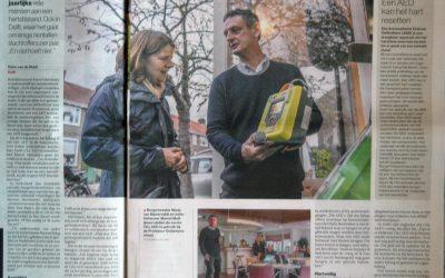 22 nov City AED groots in het nieuws