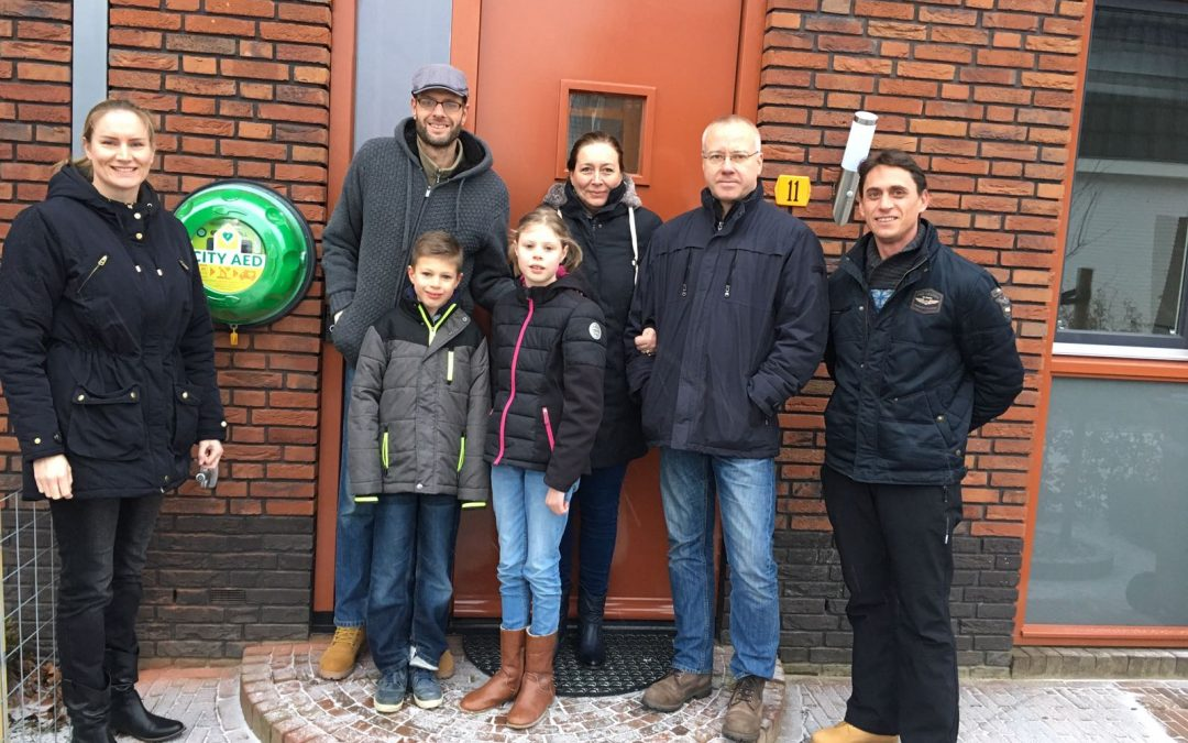 07 apr City AED Crowdfunding succesvol
