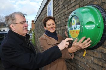 28 nov De gemeente Oostzaan is trots op City AED netwerk